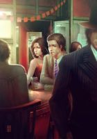 one time at a bar by Valentina-Remenar