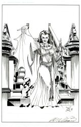Lily Munster by kwill916