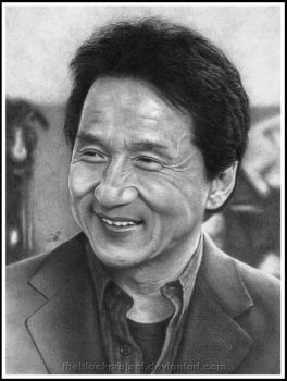 Jackie Chan by theblackproject