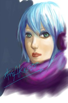 60 minute speedpaint. by xFrEAKk