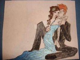 Prom night: Bella and Edward by maiselph