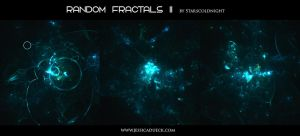Random fractals II by Starscoldnight by StarsColdNight