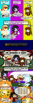 DFO Collection - The Defenders of Ghent by Kigurou-Enkou