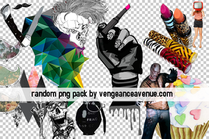 Random PNG pack by vengeanceavenue