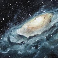 Oyster Galaxy by crazycolleeny