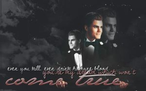 Stefan Salvatore Wallpaper by McOlussska