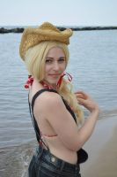 Applejack at the beach 11 by shelle-chii