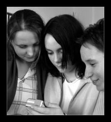 Nathalie, Kate and Joanne by Yendza