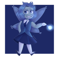 Aquamarine (Steven Universe) by VioletWinged22