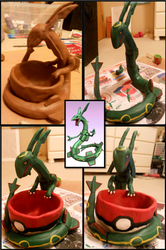 Rayquaza by KillerKitteh