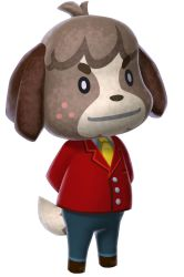 Animal Crossing New Leaf - Digby/Fofo' by Kharthoffen
