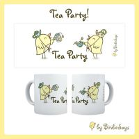 BS - Tea Party Mug by arwenita