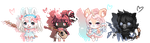 Animal Babies (OTA) (CLOSED) by SquiggledEyedAdopts