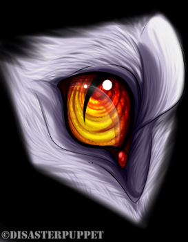 eye by disasterpuppet