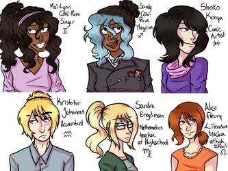 haha they're back 2 (finished) by SeaOfFeelings