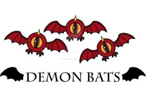 Demon Bats by MHuang51491