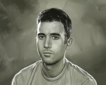 Sufjan Stevens Portrait by timothysmithdesign