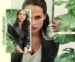 Alicia Vikander by monagory