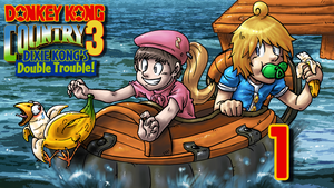 LLL and Sui Donkey Kong Country 3 Thumbnail by blue-hugo