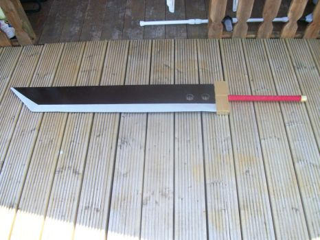 Buster Sword by Gir-the-piggy-lord