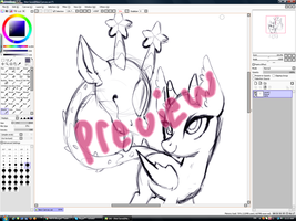 Primal Auction WIP by axolotlshy