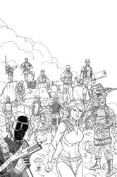 G.I.Joe Original Thirteen by JohnJett
