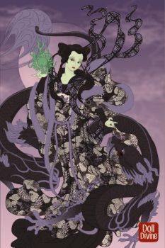 Maleficent, The Scourge Of China by GothMegane123