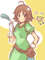 Harvest Moon Akari by RoyalAMedley