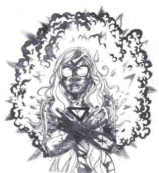 Empowered Sketch by captainrosteck