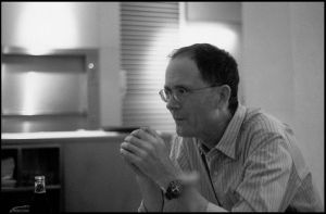 Dinner with William Gibson by lost-visions