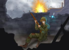 Medal of Honor: Triforce of Courage by halobender