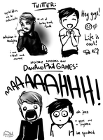 Twitter vs DanAndPhilGAMES by MartyOfLungbarrow