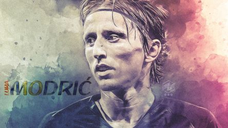 Wallpaper Luka Modric Croatia by CBNDSGN