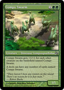 JP MTG- Compy Swarm by LordSethD