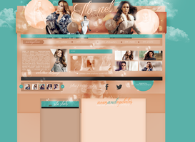 Layout ft. Jennifer Lopez by PixxLussy
