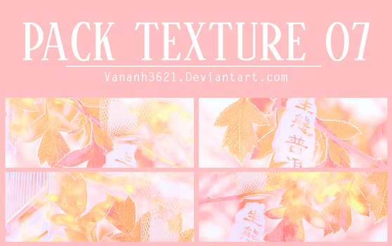 [SHARE] 170924 ///  PACK TEXTURE 07 by VanAnh3621