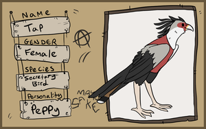 AC - Tap the Secretary bird by ShiroAC