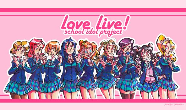 Love Live! by Selebushka