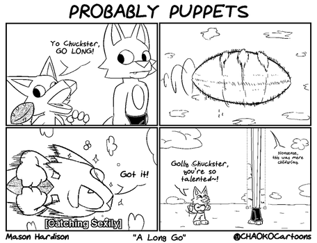 Probably Puppets - A Long Go by CHAOKOCartoons