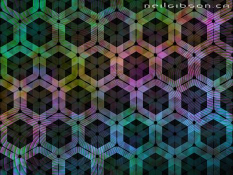 Hyper Hexagon Grid in 6D by NeilGibson