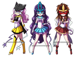 PKMN Senshi: Legendary Beasts by YoukaiYume