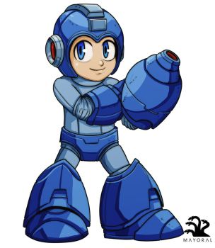 Mega Man by landuo