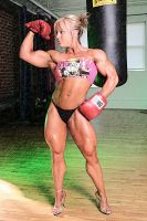 Cindy Boxe by LovBlondGirlMuscled