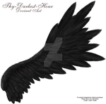 Flared Wing - Black by Thy-Darkest-Hour