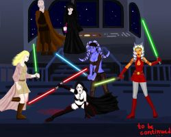 Jedi Infiltration by 00Maria00