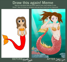 Draw this again meme by Ruehara
