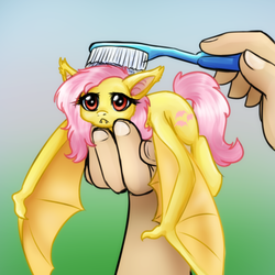 Flutterbat Brushies by JitterbugJive