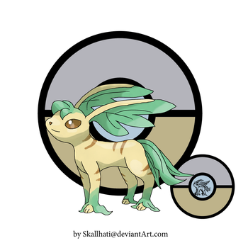 Beta Leafeon by Skallhati