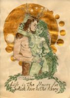 Valentine Special Gold 07-Nhymue and Denys by LadyDeddelit