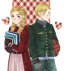 Liesel And Rudy by desidestia
